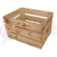Wooden box Atranvelo Woody Fruit 39x24x29cm, nature, incl. AVS system