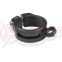 Colier tija sa XLC All MTN negru, 31.6mm, pentru cadru carbon