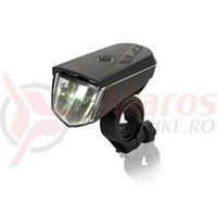 Far fata XLC headlight Sirius B40 LED, reflector, 40 lux