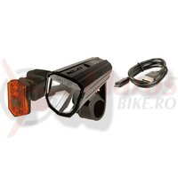 Set lumini XLC Comp Alderaan with StVZO for all bikes