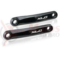 Set brate pedalier XLC pentru Bosch systems CR-E01 negru, 165mm, 15mm