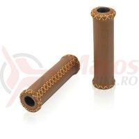 Mansoane XLC GR-G17 128mm, brown, piele