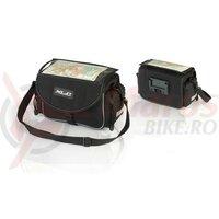 Geata cu montare pe ghidonXLC Traveller BA-S65 black/anthracite, 29 x 14 x 28cm, 7L