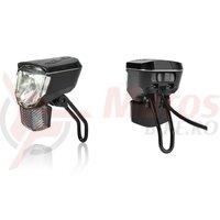 Far fata XLC Sirius D45 E LED, reflector, 45Lux, E.Bike ready
