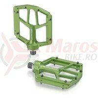 Pedale XLC MTB/ATB PD-M14 aluminium, lime green, 320g