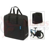 Geanta portbagaj XLC shopping bag negru, 34 x 36 x 15, 18.5L