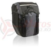 Geanta portbagaj XLC BA-S40 negru/antracite, 29 x 14 x 36cm, 30L