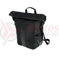 Geanta portbagaj XLC V-light Rolltop single, negru
