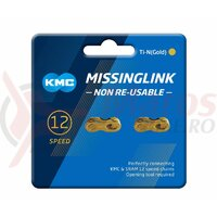 Zale KMC X12 Missing Link CL552 TI-N Gold, Aurii