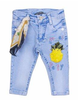 Blugi fetite model ananas