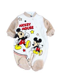 Combinezon catifea Mickey maro