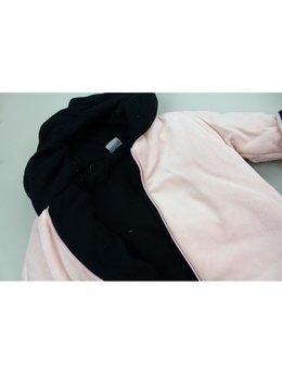 Combinezon catifea stele roz prafuit