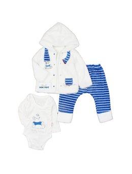 Compleu bebe pufos 3-18 luni B1259