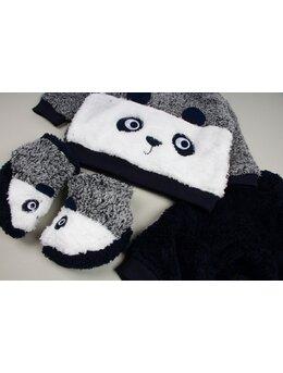Compleu cocolino panda negru