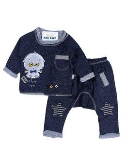 Compleu fashion bleumarin 6-24 luni cod: 9141