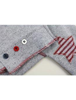 Compleu fashion gri 6-18 luni cod: 9141