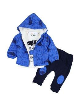 Compleu gros albastru 9-12 luni cod: 4744