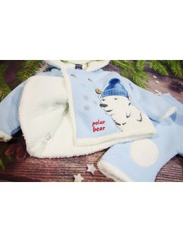 Compleu polar bear bleu