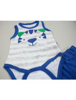 Compleu tigru vara albastru