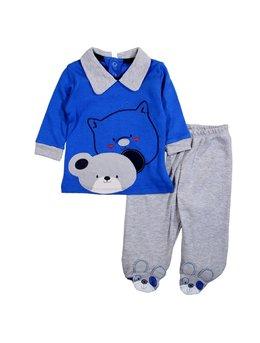 Compleu urs albastru 0-6 luni cod: 2823