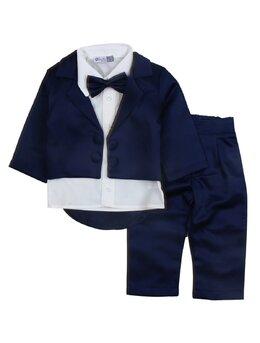 Costum print model bleumarin