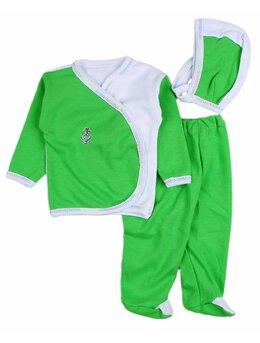 Costumas 3 piese zibin verde aprins