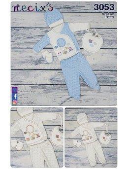 Costumas 5 piese bleu