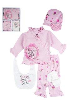 Costumas 5 piese cutie darling roz