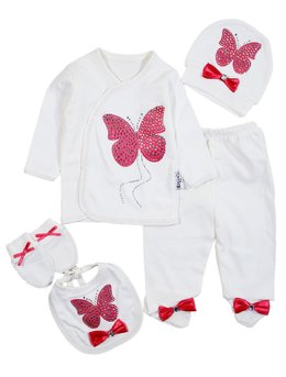Costumas 5 piese fluture cicalm