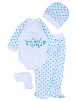 Costumas buline 'S-a nascut o stea' albastru