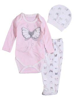 Costumas fluture roz
