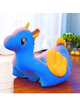 Fotoliu bebelusi unicorn turcoaz