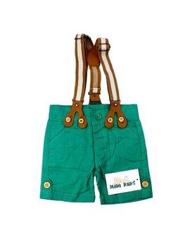 Pantaloni scurti cu bretele 12-18 luni B1559