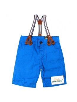 Pantaloni scurti cu bretele 3-12 luni B1536
