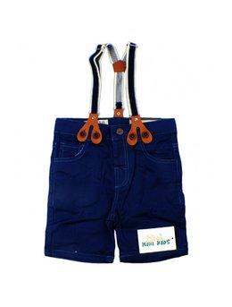 Pantaloni scurti cu bretele 3-12 luni B1556