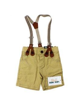 Pantaloni scurti cu bretele 3-24 luni B1558