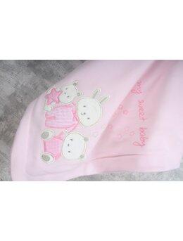 Paturica pufoasa polar animalute roz
