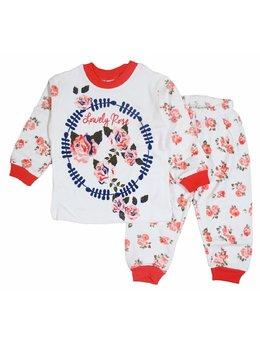 Pijama Lovely Rose coral