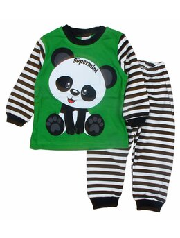 Pijama ursulet verde