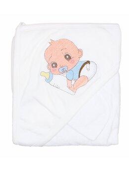 Prosop baie bebelus bleu