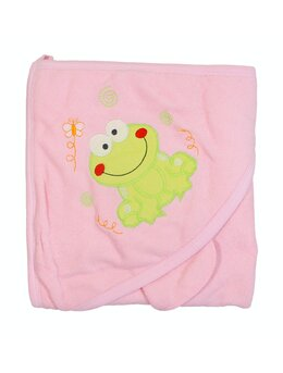 Prosop baie roz cu broscuta
