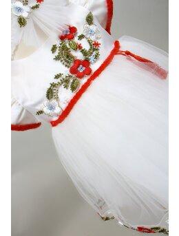 Rochita botez Carina floricele