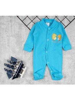Salopeta baby albastru