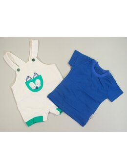 Salopeta baby albastru inchis