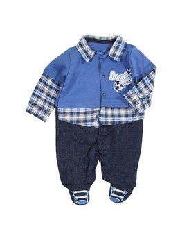 Salopeta baietei albastra 0-3 luni cod: 2314