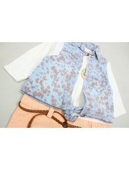 Salopeta fashion girl coral