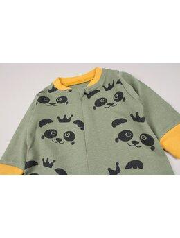 Salopeta panda verde-galben