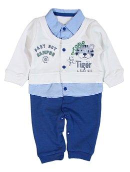 Salopeta Tiger albastra