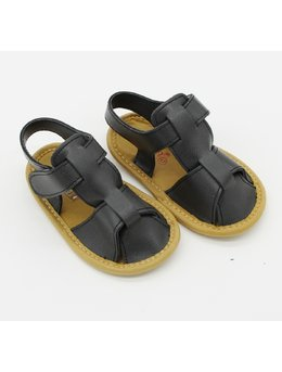 Sandale baietei negru