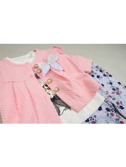 Set so cute coral 3 piese